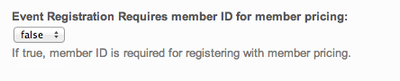 Require Member ID