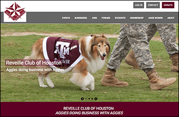 Reveille Club of Houston Website