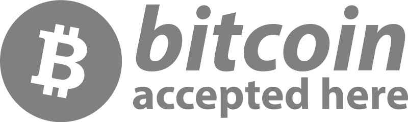 Free cryptocurrency logo - Bitcoin Aceepted Here