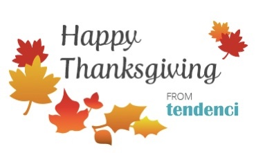 Tendenci Happy Thanksgiving graphic banner