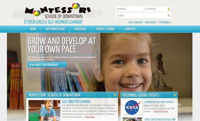 Tendenci Powers Education Website