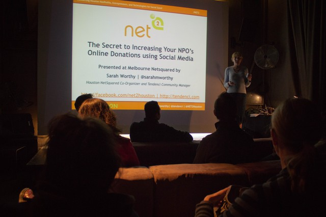 Netsquared Melbourne Nonprofit Social Media Strategy Presentation