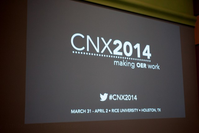 2014 CNX Conference on Open Education Resources