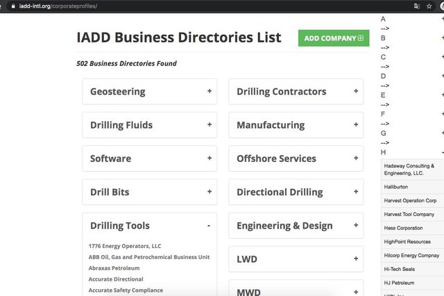 International Association of Directional Drilling