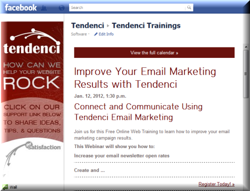 Social Media Event Promotion | Tendenci