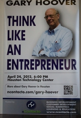 "Gary Hoover on How to ""Think Like an Entrepreneur"""