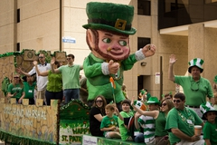 Saint Patrick's Day Downtown Houston Parade