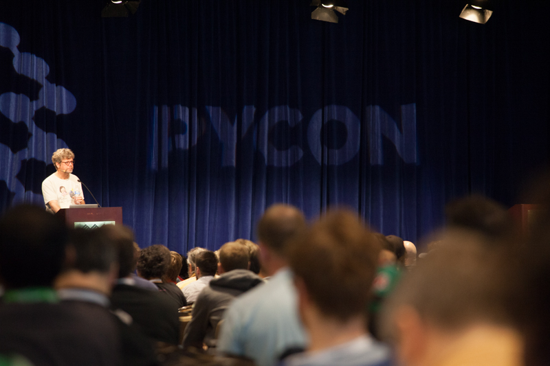 Guido van Rossum at PyCon 2013