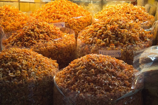 Dried Shrimp Saigon Marketplace