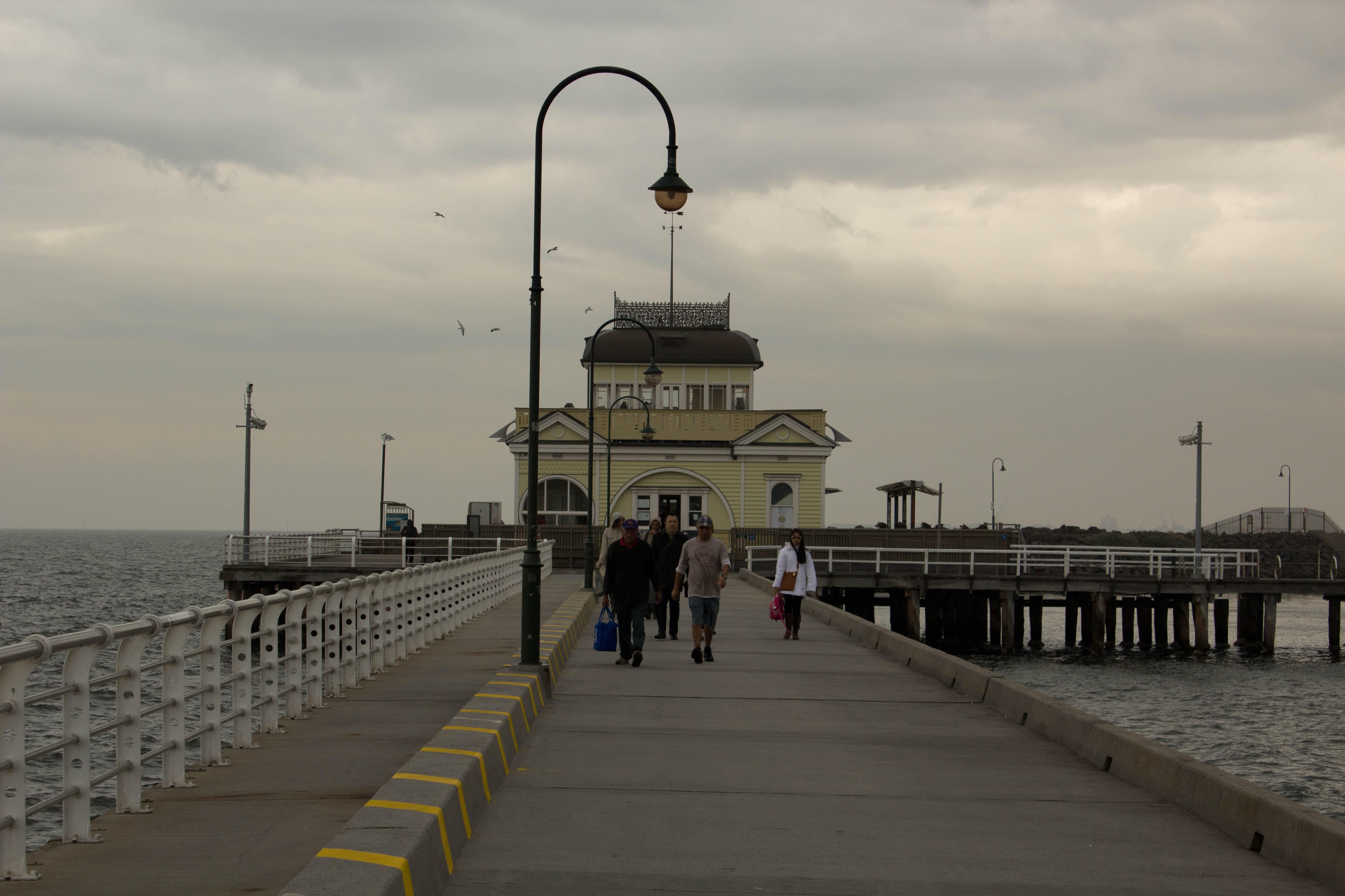 Melbourne Australia and St. Kilda Beach VIC