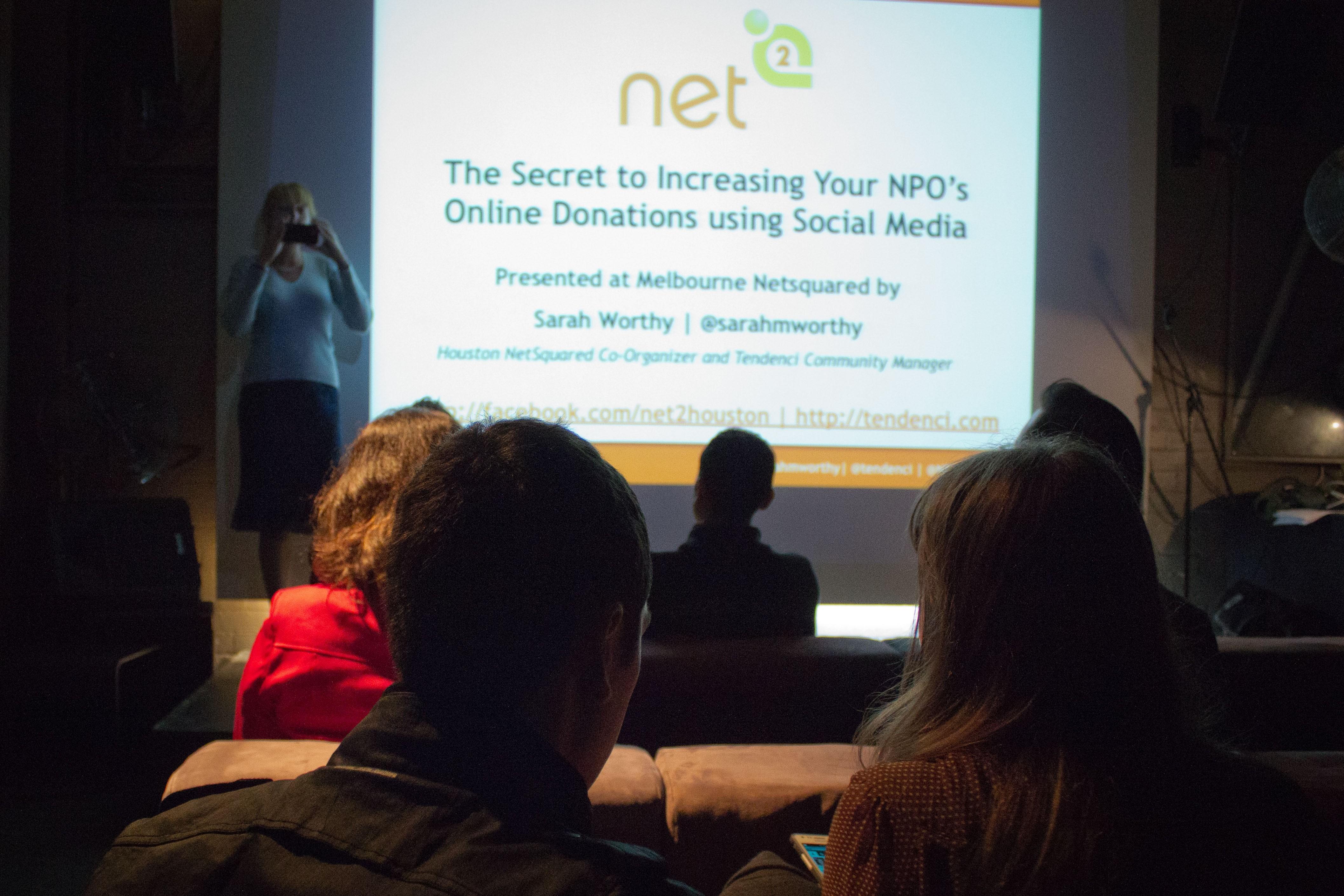Netsquared Melbourne Nonprofit Social Media Strategy Presentation - Photo