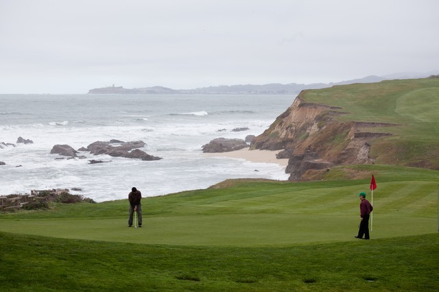 golf at half moon bay (I'm not a golfer but folks seem to enjoy it)