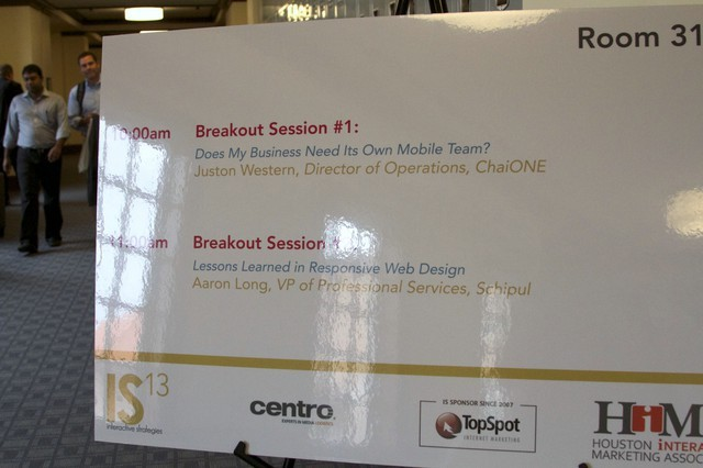IS Conference 2013 #IS13 - Marketing in a Multi Screen World