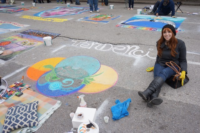With the Tendenci square - Via Colori 2013