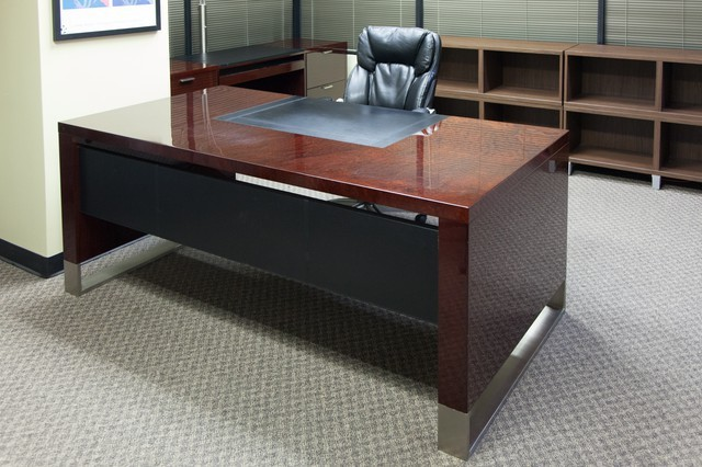The Most Over the Top Executive Desk and Credenza Available