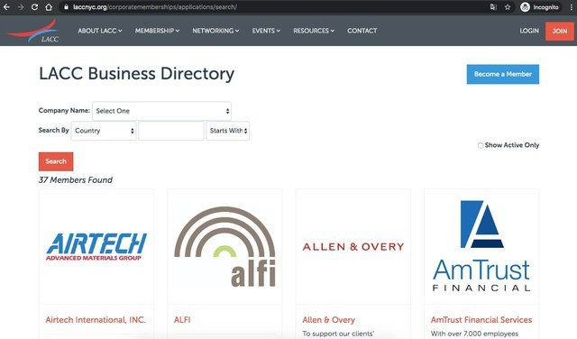 Luxembourg-American Chamber of Commerce Directories  Business Directory