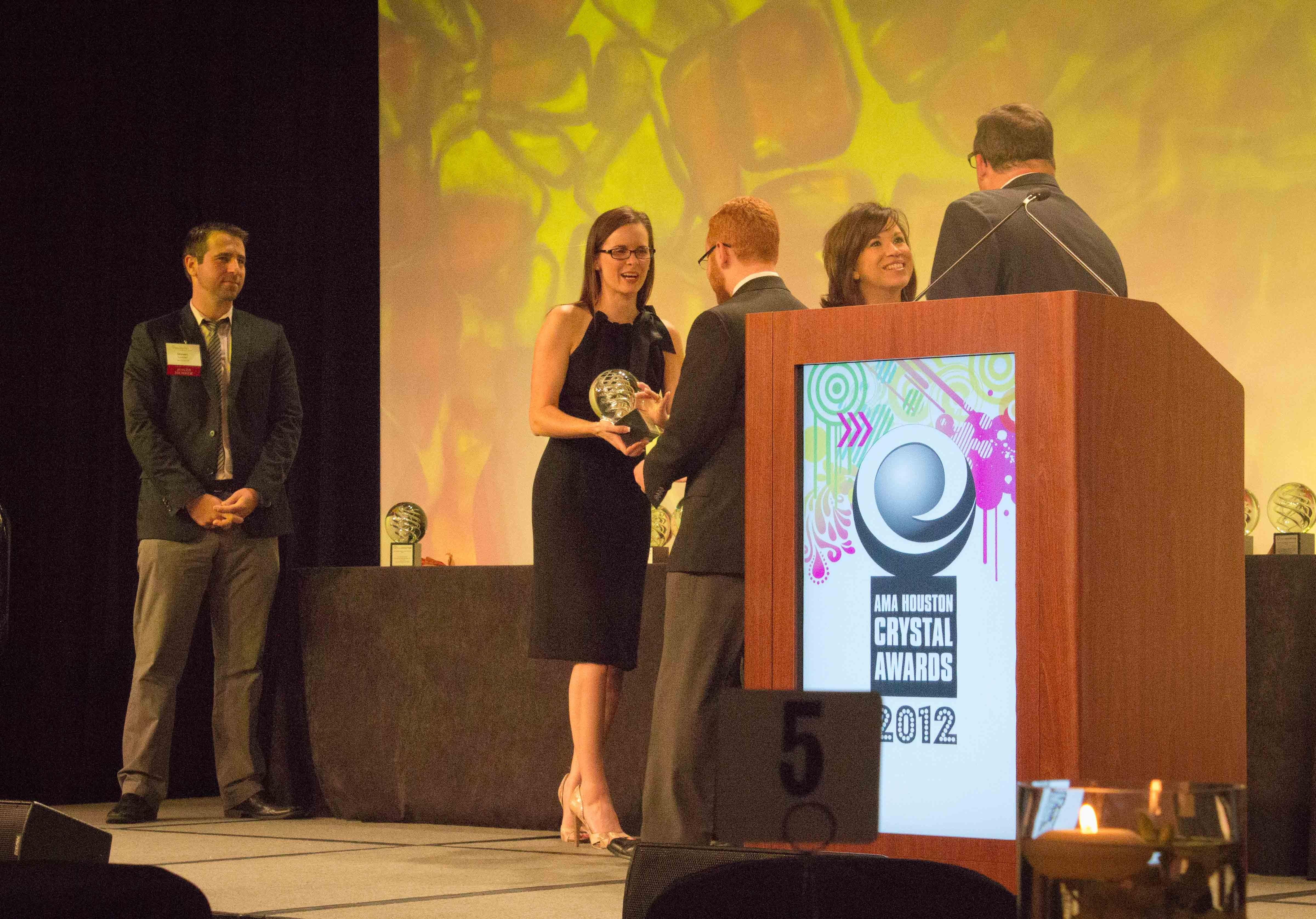 AMA Houston Crystal Awards Gala 2012