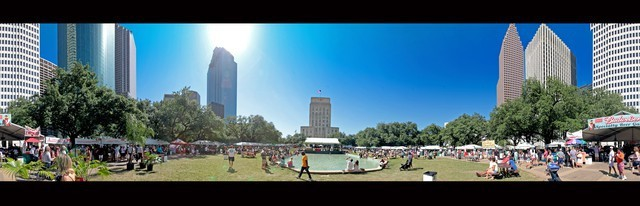 Houston International Festival Panorama 2012